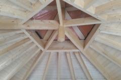 dakopbouw van binnenuit gezien