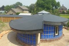 klaar voor dakbedekking en gevelbetimmering